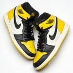 "【2019秋】Air Jordan 1 ""Yellow Toe"" AR1020-700"