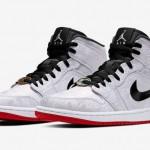 """【12月7日】CLOT x Air Jordan 1 Mid """"Fearless"""" CU2804-100"""