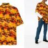 """常夏の夕暮れを表現したBALENCIAGA """"Hawaiian shirt"""" (バレンシアガ ハワイアン シャツ)"""