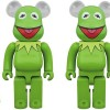 BE@RBRICK Kermit The Frog 100% & 400% /1000%が3/23発売 (ベアブリック カーミット)