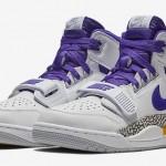 """【オフィシャルイメージ】11/1発売!ナイキ ジョーダン レガシー 312 """"ホワイト/フィールド パープル/アマリロ (NIKE JORDAN LEGACY 312 """"White/Field Purple/Amarillo"""") [AV3922-157]"""