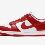 "【6月4日発売】Nike Dunk Low ""University Red""【CU1727-100】"