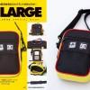 DC × XLARGE 3WAYショルダーバッグ付きスペシャルブックが12/13から発売 (エクストララージ)