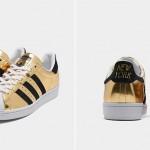 "adidas Originals SUPERSTAR ""Metallic Gold/Black"" (アディダス オリジナルス スーパースター ""メタリックゴールド/ブラック"") [FX3900]"