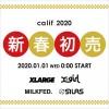 XLARGE/X-girl 直営「calif」2020年の新春セールが2020/01/01 00:00~スタート (エクストララージ エックスガール)