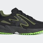 """adidas Originals Yung-96 CHASM """"Core Black/Grey Six/Solar Green"""" (アディダス オリジナルス ヤング-96 キャズム """"コアブラック/グレーシックス/ソーラーグリーン"""") [EF8973]"""