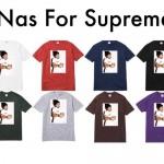 【リーク】SUPREME (シュプリーム) × Nas (ナズ) フォトTEEがリリース予定!?