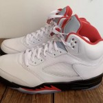 """【3月28日発売】Air Jordan 5 """"Fire Red""""【エア ジョーダン 5 ファイア レッド】"""