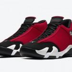 """【7月2日発売】Air Jordan 14 """"Gym Red""""【エアジョーダン14 ジムレッド】"""