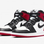 "【9月21日】Air Jordan 1 Satin WMNS ""Black Toe"" 【つま黒 サテン】"
