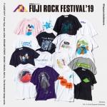 今年は7組によるスペシャルデザイン!フジロック 19 × ビームス コラボTEEが6/17発売 (FUJI ROCK FESTIVAL 2019 BEAMS T)