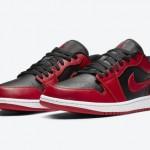 """【7月1日】Air Jordan 1 Low """"Varsity Red""""【ジョーダン1】"""