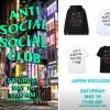 日本限定 Anti Social Social Club ニューアイテムが5/16 11:00オンラインにて発売 (アンチ ソーシャル ソーシャル クラブ)